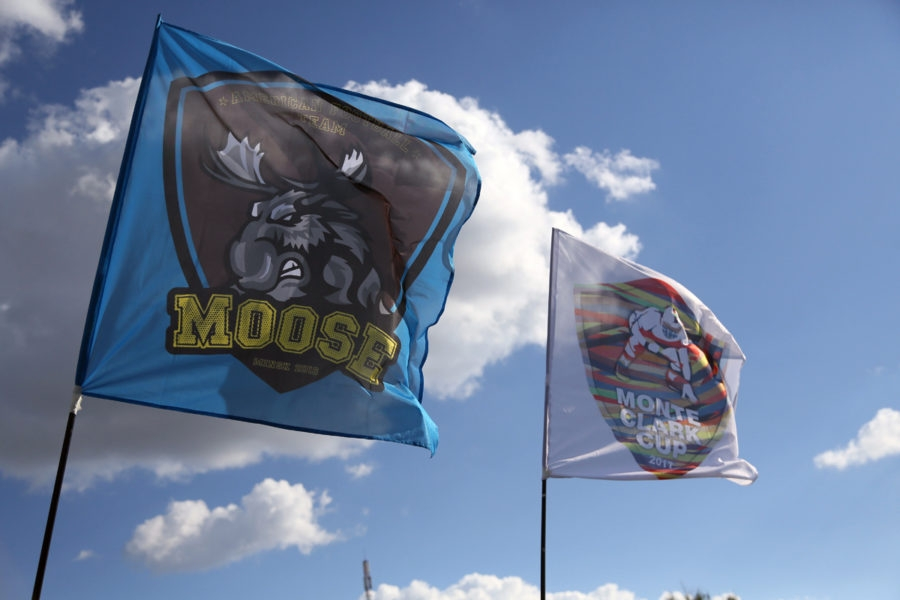 "THE FIRST INTERNATIONAL MATCH OF ""MINSK MOOSE"""